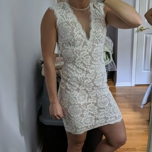 White lace dress - never worn with tags
